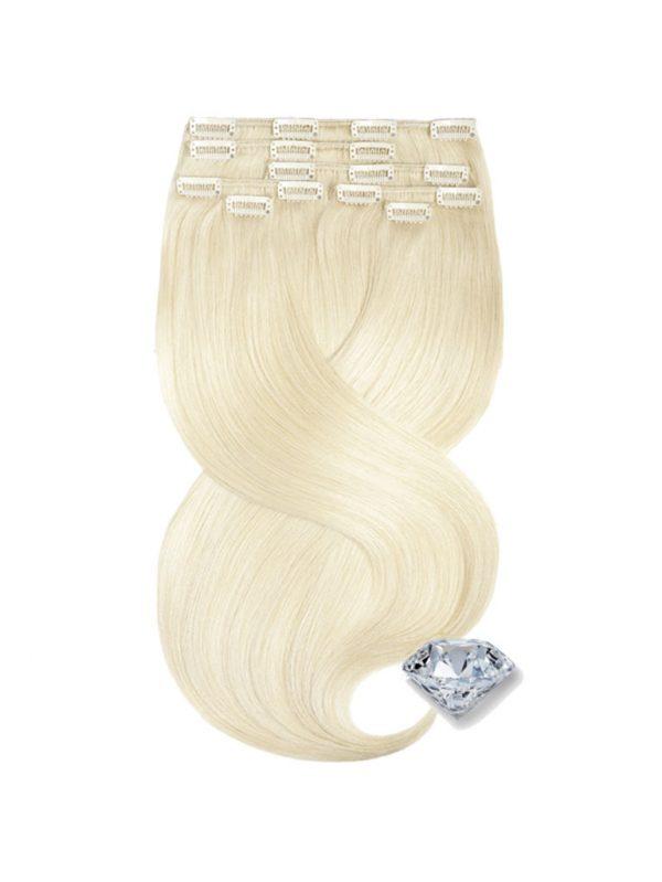 clip in vlasy blond